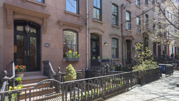 FEATURED PROPERTY: 941 Bloomfield Street | Uptown Hoboken Brownstone | 4BR/2.5BA — $1,900,000