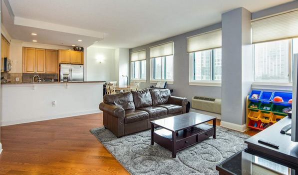 FEATURED PROPERTY: 311 Washington Street #8E, Jersey City | 2BR/2BA | $879,000
