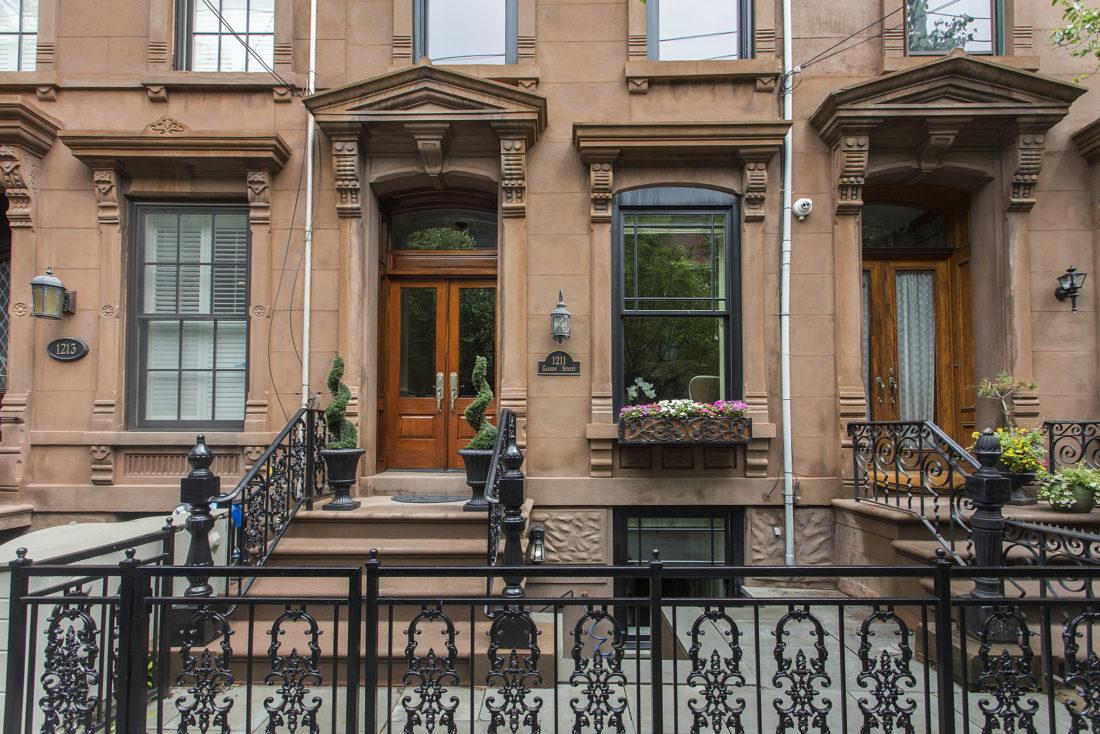 FEATURED PROPERTY: 1211 Garden Street   Elegant Hoboken Brownstone ...