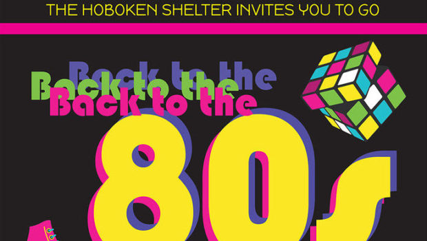 BACK TO THE '80s: Hoboken Shelter Fundraiser Kicks It Old School — FRIDAY, MAY 11th @ The Elks Lodge