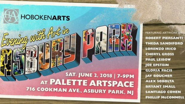 "HobokenArts ""Art in Asbury Park"" Exhibit Opens Saturday, June 2 at Palette Artspace"