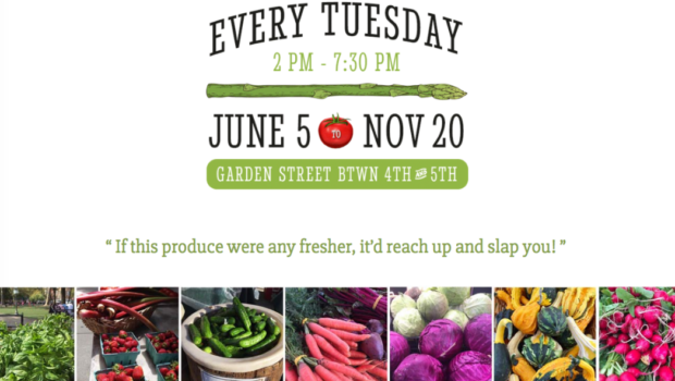 HOBOKEN FARMERS' MARKET: Church Sq. Park | Tuesdays from 2:00-7:30, June 5th-November 20th