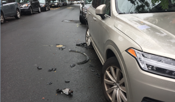 A CASE AND A HALF: Drunk Driver Bashes Up Three-Dozen Cars on Bloomfield Street in Hoboken