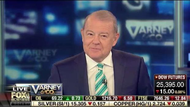FACES: STUART VARNEY – FOX Business Network Host Does Hoboken His Way