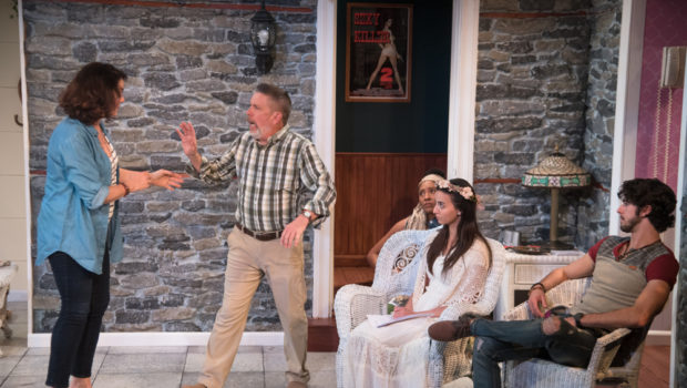 "CHECK IN, CHECK OUT, CHEKHOV: Mile Square Theatre's ""Vanya & Sonia & Masha & Spike"" Will Make You A Fan"