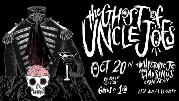 SHAKE THEM BONES: The Ghost of Uncle Joe's Show Brings Harsimus Cemetery to Life With a Full Day of Live Music—SATURDAY, OCTOBER 20