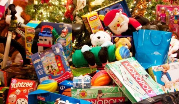 Hoboken Police and Fire Department Toy Drive — Wednesday, December 11 from 8 a.m. to 6 p.m.