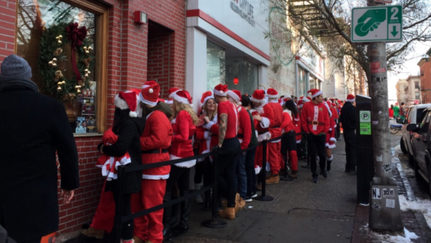 NORTH POLARIZING: Love It Or Hate It, Hoboken SantaCon Returns on Saturday, December 15th