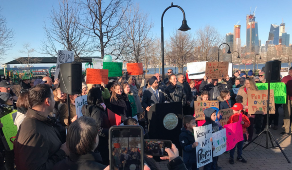 Hoboken Residents to March Against Proposed Ferry Fuel Depot—Saturday, March 9 @ 10:00 a.m.