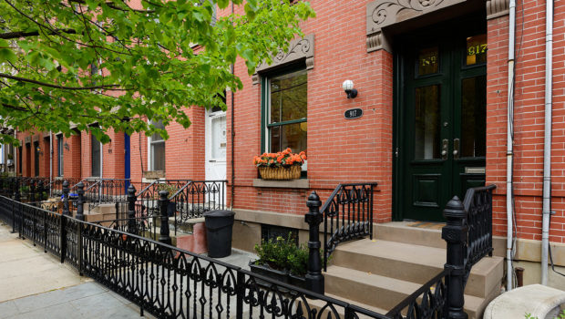 FEATURED PROPERTY: 917 Bloomfield Street, Uptown Hoboken; Renovated 4-Story Townhome — $1,950,000
