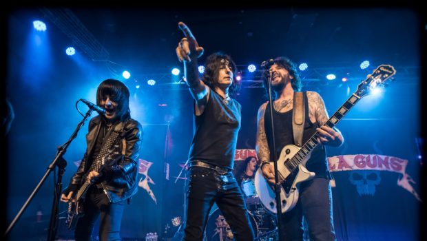 LIVE MUSIC: L.A. Guns at Debonair Music — PHOTO GALLERY