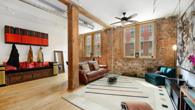 FEATURED PROPERTY: 227 Grand Street #2; Renovated Industrial 4BR/2.5BA Floor-Through Loft — $1,795,000