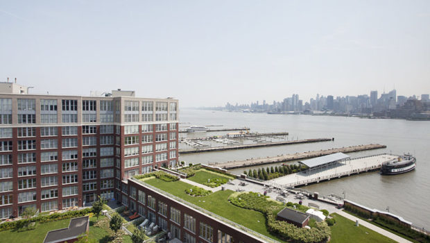 FEATURED PROPERTY: 1125 Maxwell Lane #1207, Hoboken; 2BR/2BA Waterfront Rental — $5,300/mo
