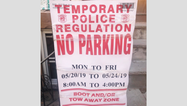 SIGN, SIGN, EVERYWHERE A SIGN — Hoboken Finally Moves to Revamp Temporary No Parking Sign Policy