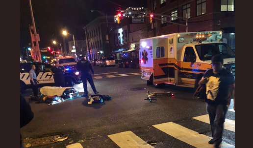 Hoboken Scooter Rider Hospitalized After Collision With Vehicle On 14th & Hudson
