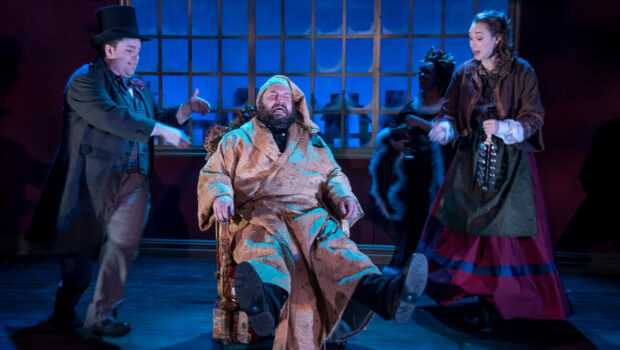 REVIEW: 'A Merry Little Christmas Carol' is a Delightful Take on a Holiday Classic | NOW PLAYING @ MILE SQUARE THEATRE