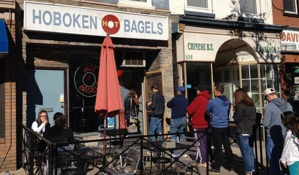 IT MUST BE THE BAGELS: New Yorkers Keep Lining Up to Move to New Jersey