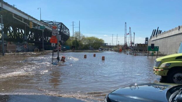Massive Water Main Break Reported in Jersey City; Disruptions Citywide