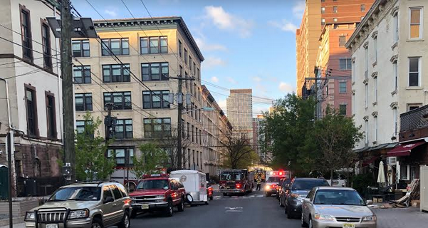 Hoboken Fire Department Battles Early Morning Blaze in Senior Building