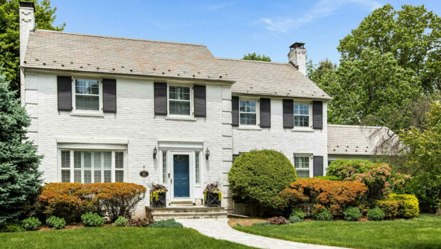 FEATURED PROPERTY: 571 Ridgewood Avenue, Glen Ridge | Lovely Georgian Colonial, 6BR/3.5BA | $899,000