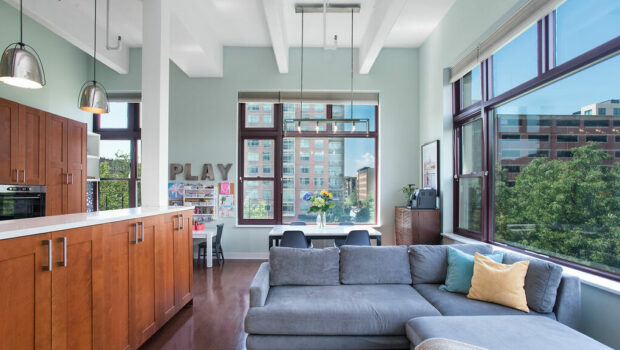 FEATURED PROPERTY: 1500 Washington Street #3D, Hoboken | 2BR/2BA Hudson Tea Building Corner Unit | $1,075,000