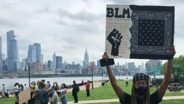 #BLACKLIVESMATTER: Estimated 10,000 Attend Peaceful March Through Hoboken — VIDEO