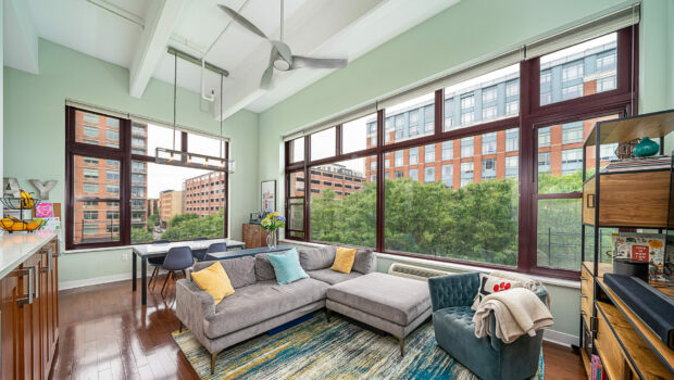 FEATURED PROPERTY: 1500 Washington Street #3D, Hoboken | 2BR/2BA Hudson Tea Building Corner Unit | $1,100,000