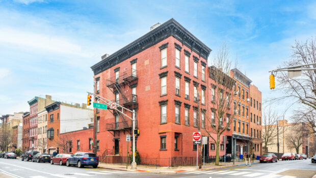 FEATURED PROPERTY: 601 1st Street #6, Hoboken | Sunny Downtown Corner Unit | 1BR/1BA | $350,000